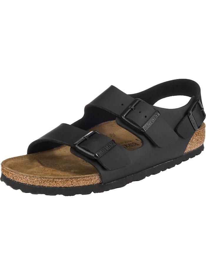 Birkenstock Milano Bs Komfort-Sandalen schmal, schwarz