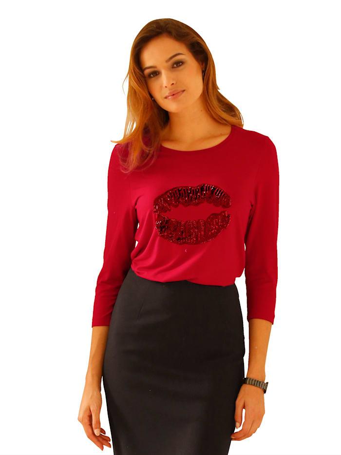 Shirt met trendy motief
