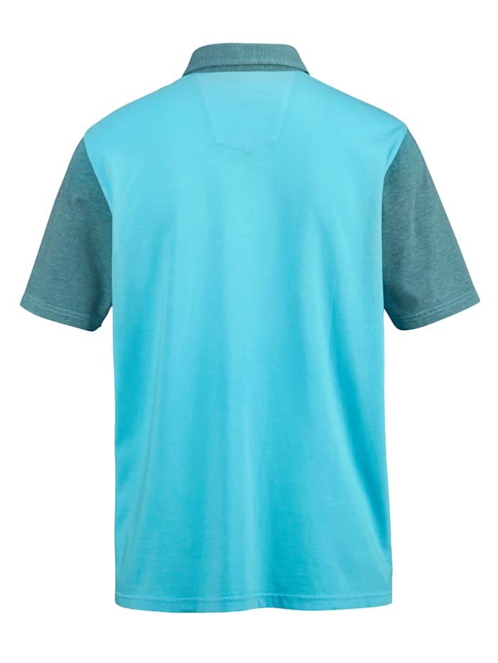 Poloskjorte i myk jersey