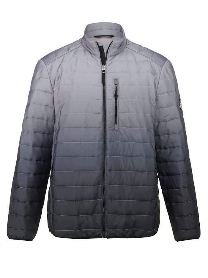 BABISTA Gewatteerde jas met modieus kleurverloop, Grijs