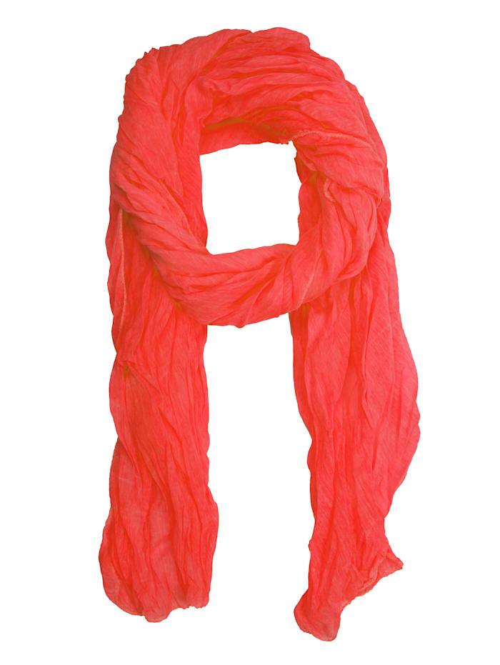 Collezione Alessandro Italienischer Schal Blanca Made in Italy, orange