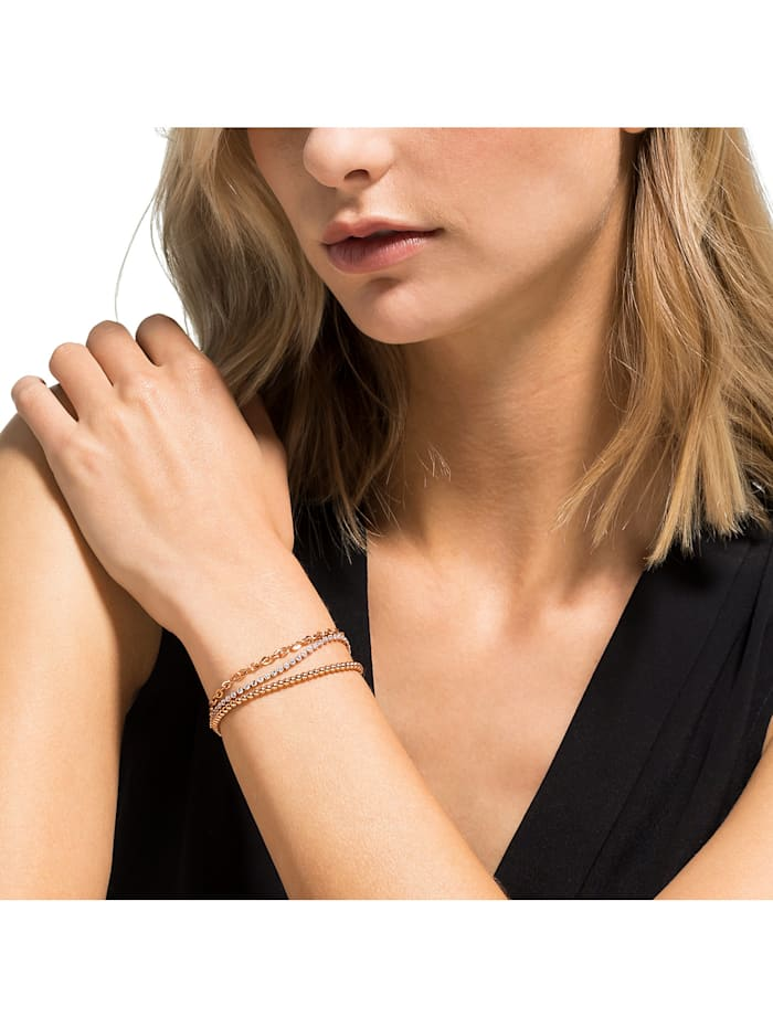 FAVS Damen-Armband Edelstahl 67 Zirkonia