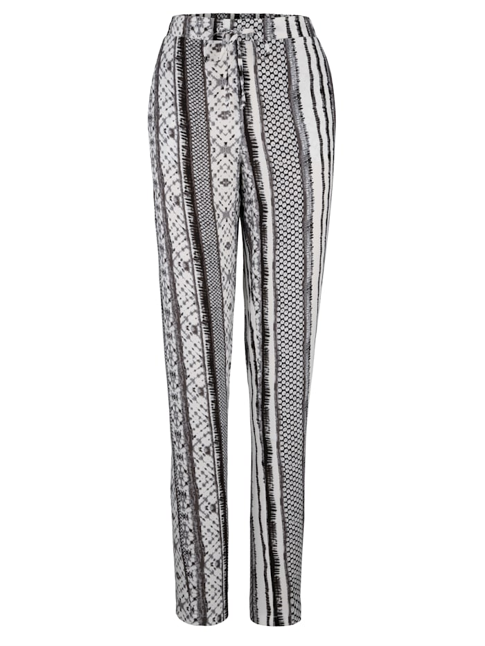 Painokuvioidut housut