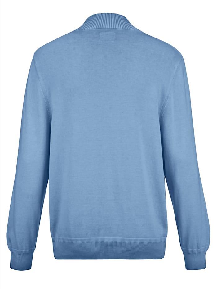 Pullover in gewaschenem Stil