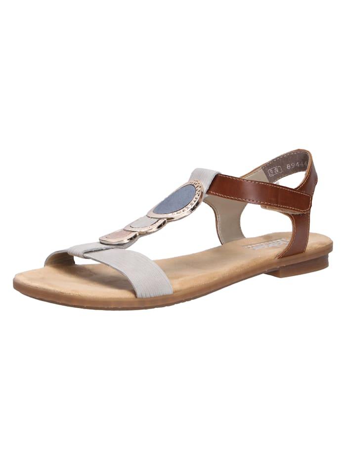 Rieker Sandale von Rieker, grau