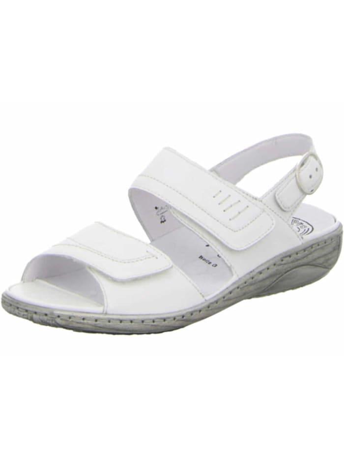 Waldläufer Damen Sandale in weiß, weiß
