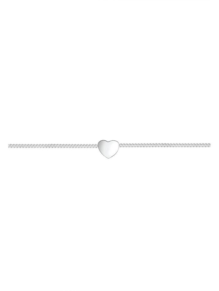 Halskette Choker Herz Heart Liebe 925 Sterling Silber