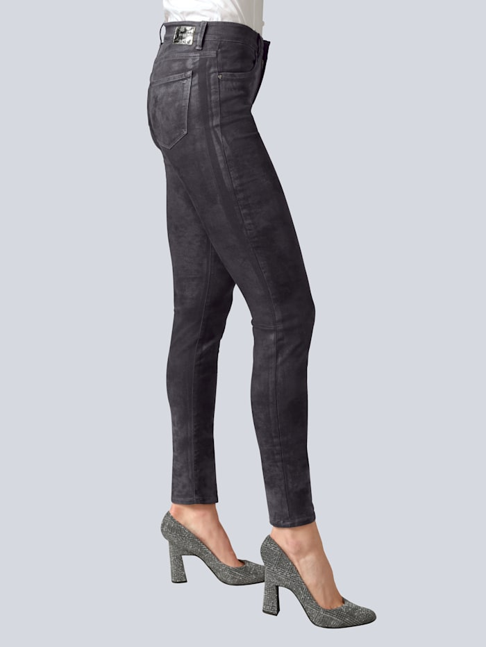 Jeans 'Shakira' in Wildlederoptik