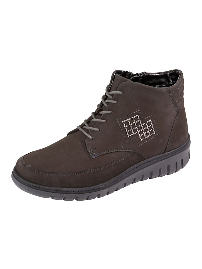 Waldläufer Lace-up Ankle boots, Grey
