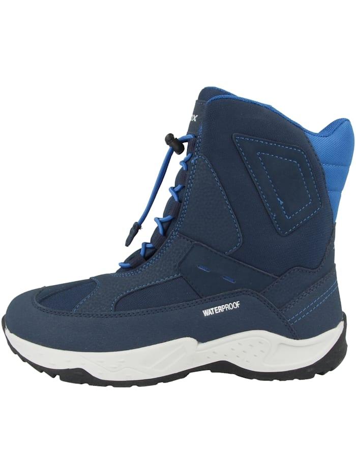 Geox Winterstiefel J Sentiero B.WPF C, blau
