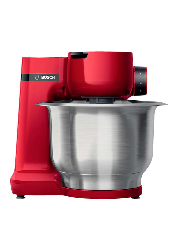 Köksmaskin MUM serie 2, med grönsaksskärare – MUMS2ER01 i rött