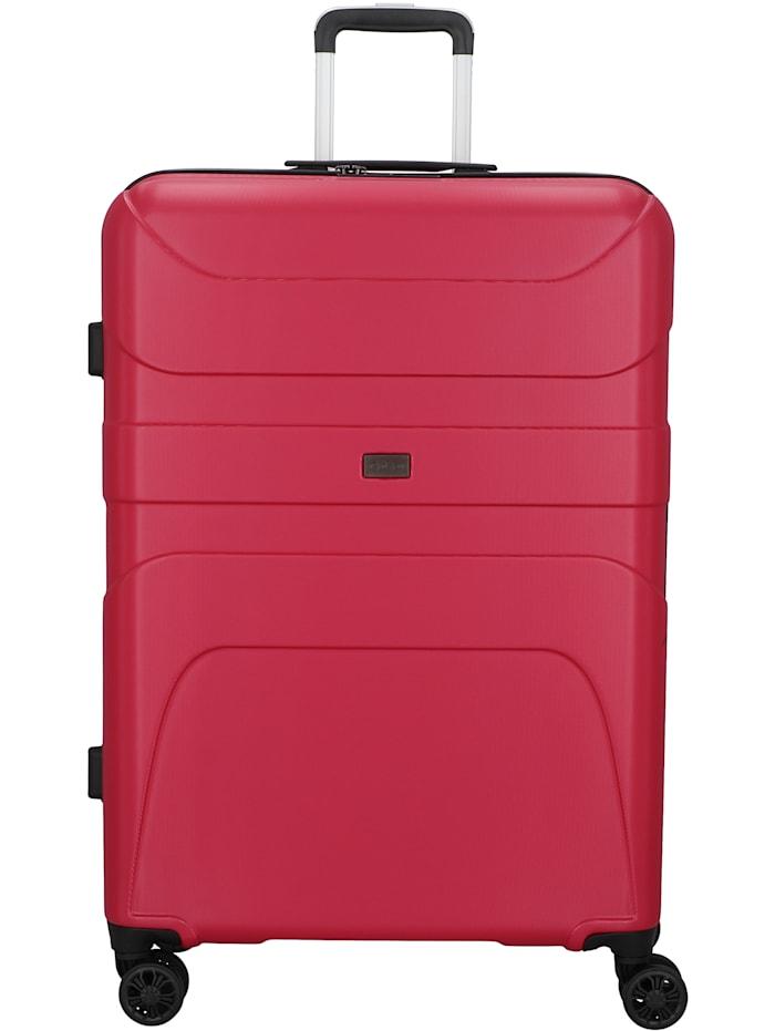 D&N Travel Line 2100 4-Rollen Trolley 78 cm, pink