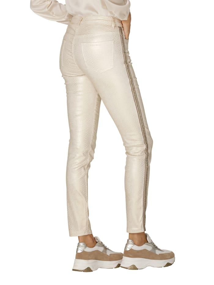 Pantalon à reflets chatoyants