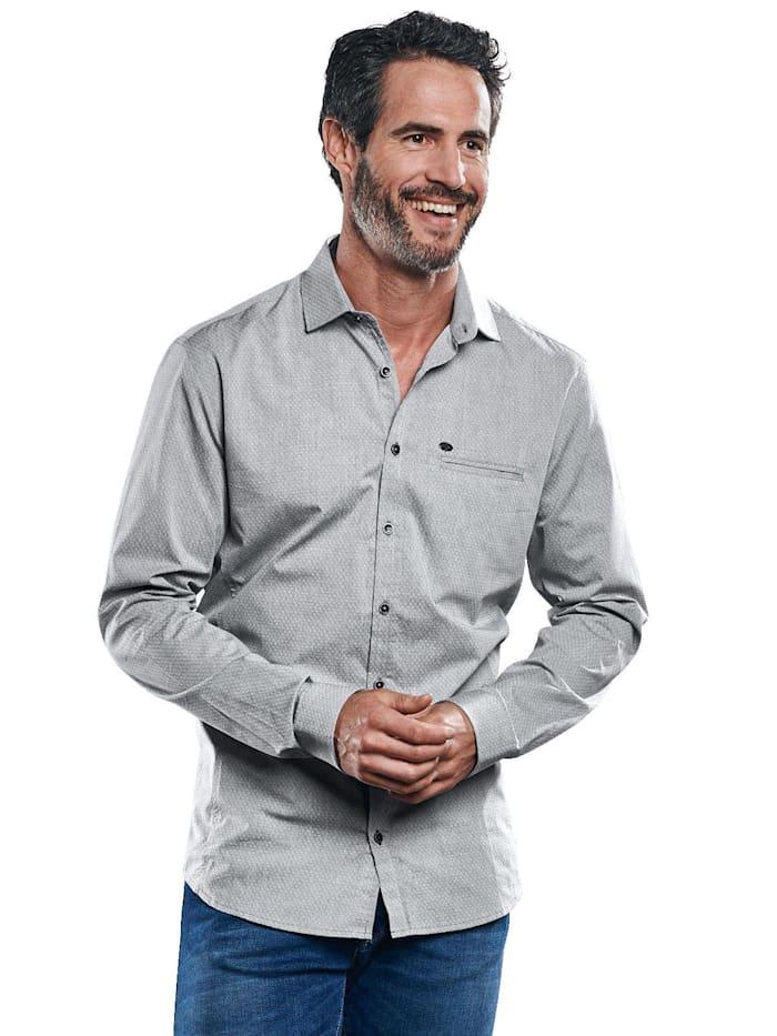 Engbers Sakko-Hemd, Hellgrau