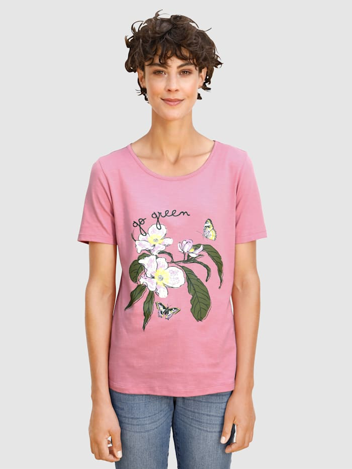 Dress In Shirt unterstützt Cotton made in Africa, Lavendel