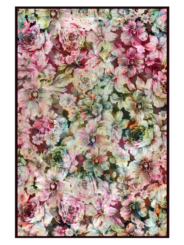 IMPRESSIONEN living Leinwandbild, Floral, Rosé