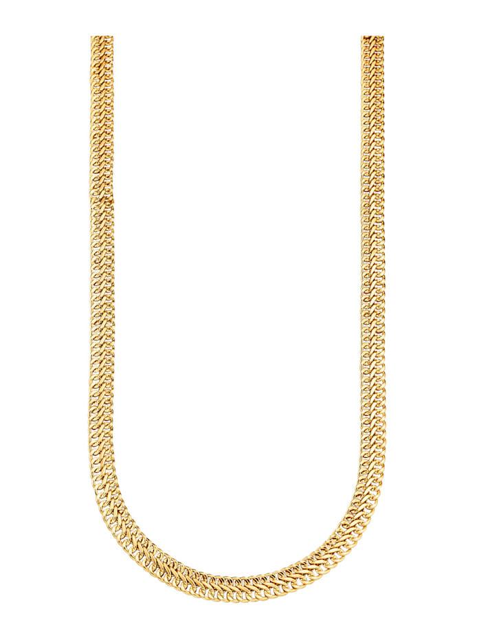 Diemer Gold Gourmetteketting van 14 kt. goud, Geelgoudkleur