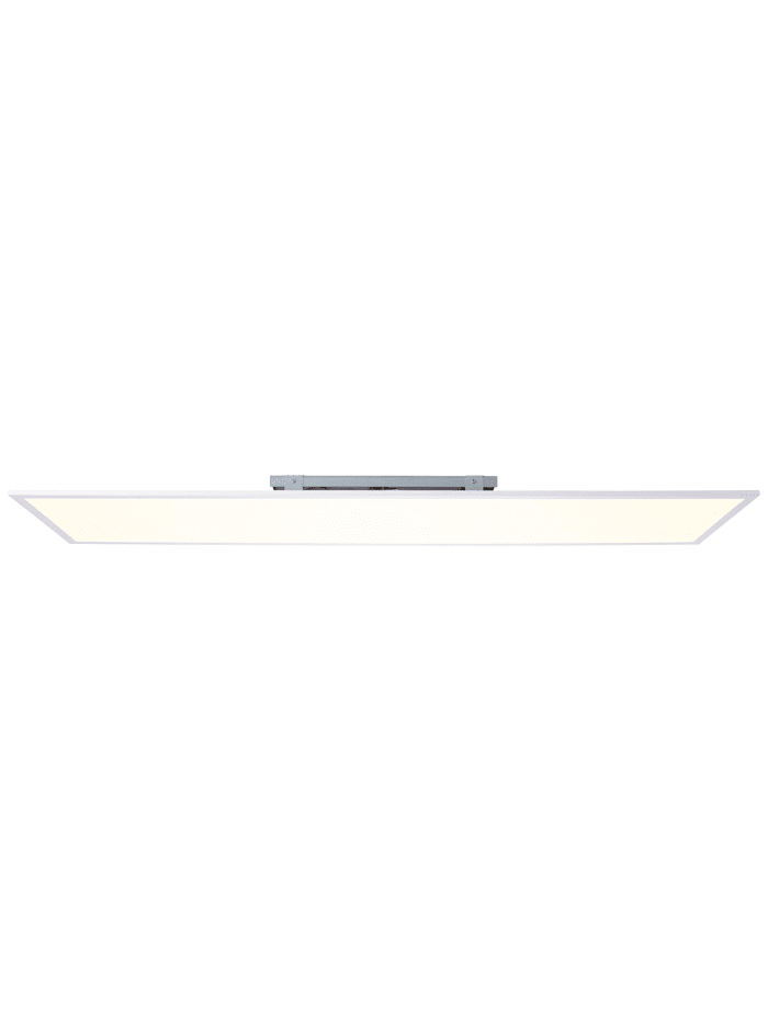 Brilliant Charla LED Deckenaufbau-Paneel 120x30cm weiß/warmweiß, weiß/warmweiß