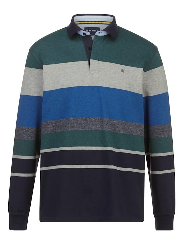 BABISTA Sweatshirt Exclusieve online aanbieding, Groen/Marine