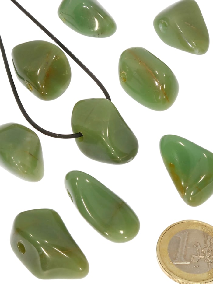 Chalcedon grün Anhänger