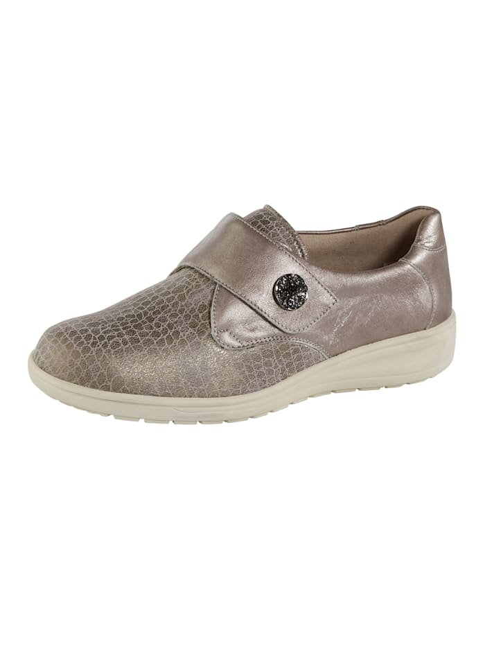 Solidus Klettslipper, Taupe