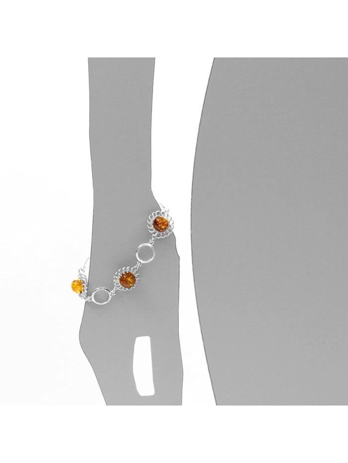 Armband - Naomi - Silber 925/000 - Bernstein