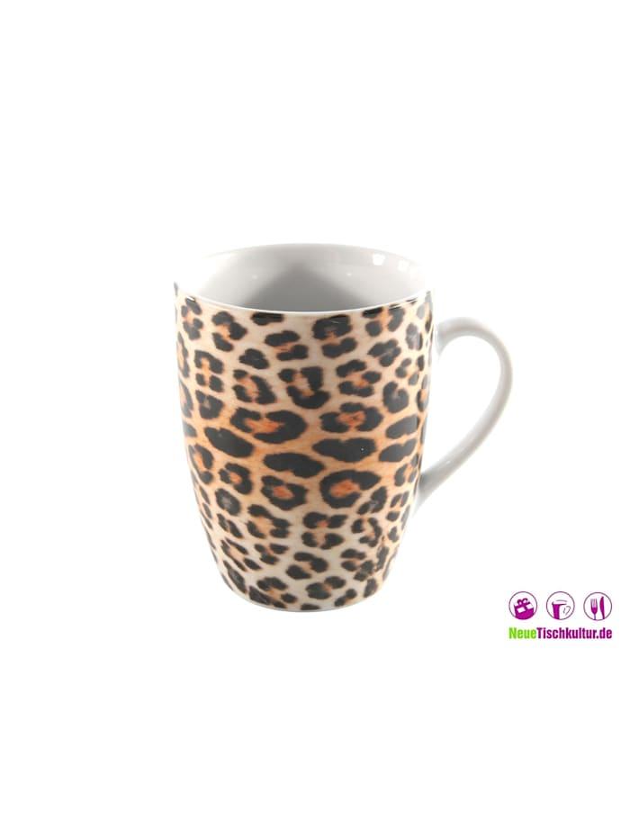 Kaffeetasse Leopard
