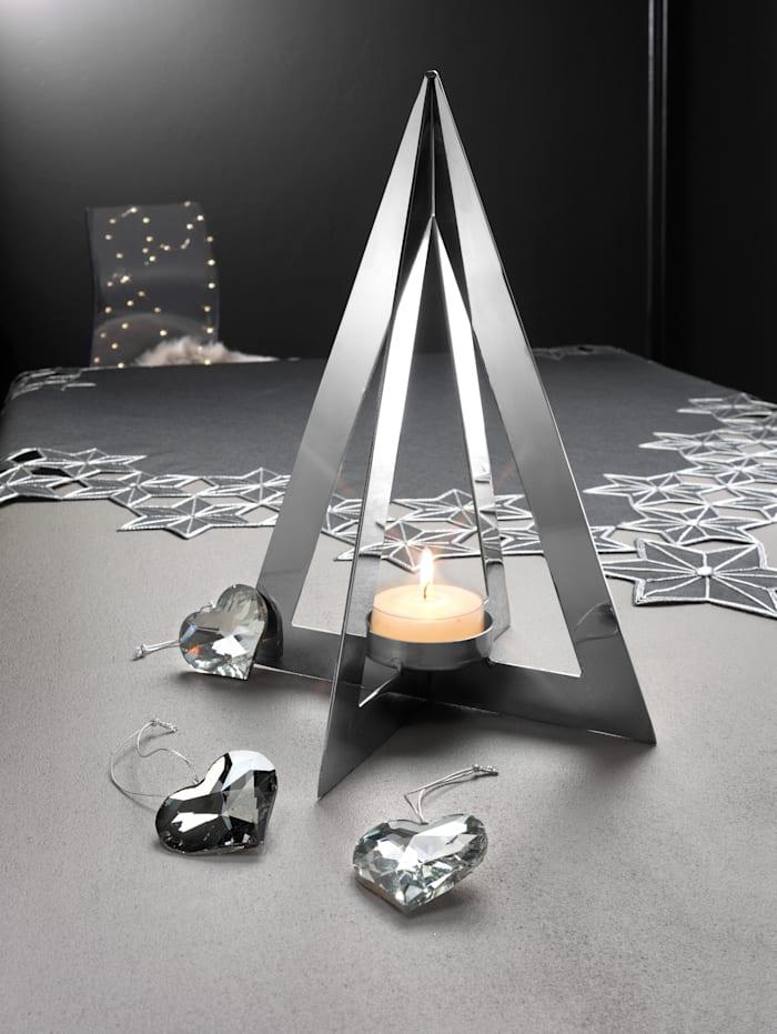 Set van 3 hartvormige hangers