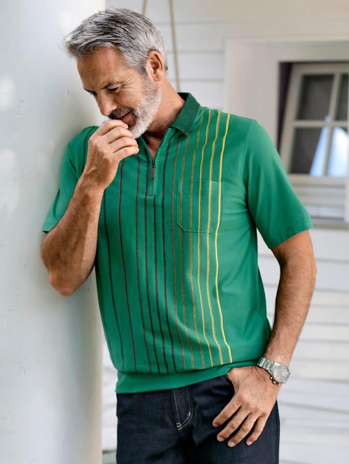 BABISTA Poloshirt van eersteklas materiaal, Groen