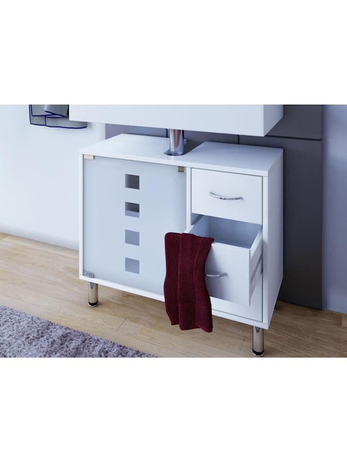 VCM Darola | Waschtischunterschrank, Weiß