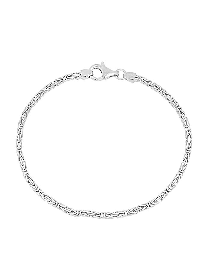 Bracelet maille royale en argent 925