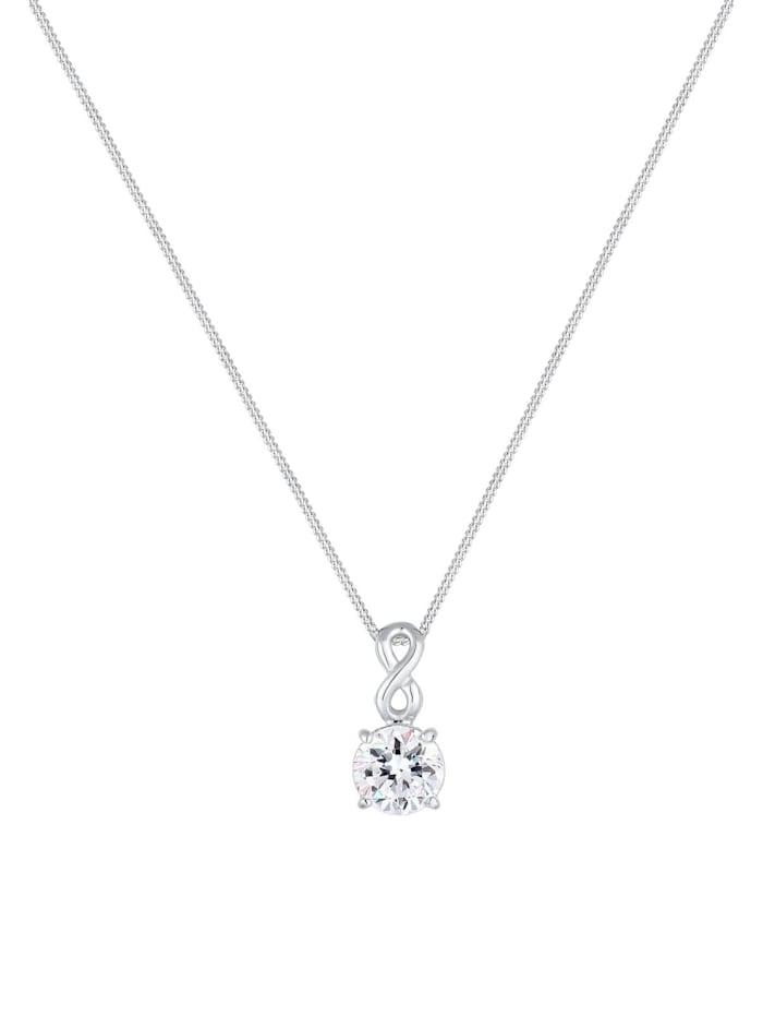 Halskette Infinity Kristall 925 Silber