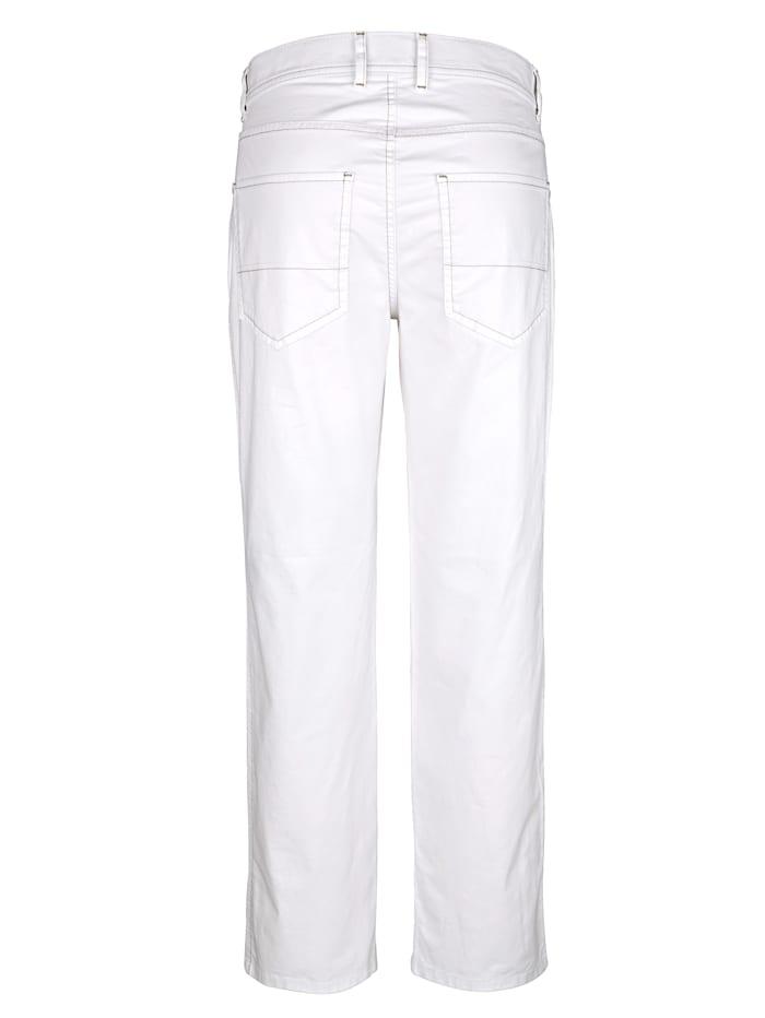 Pantalon 5 poches à part destretch