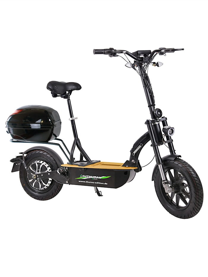 "FORCA DIDI THURAU EDITION Elektroroller ""Eco-Tourer Speed"" 45 km/h, Safety, schwarz"