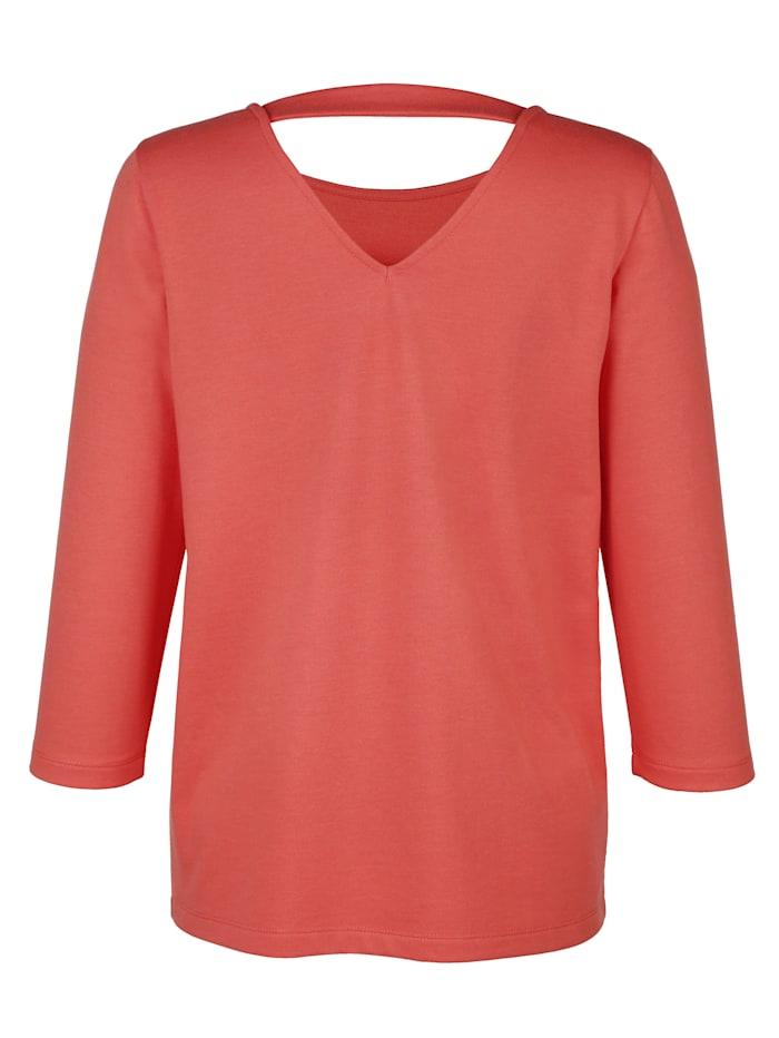 Sweatshirt met modieuze applicatie
