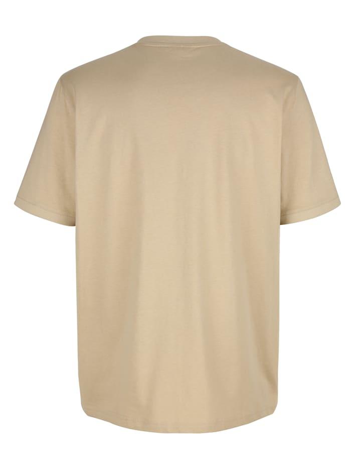 T-Shirt mit Druckmotiv im Vorderteil