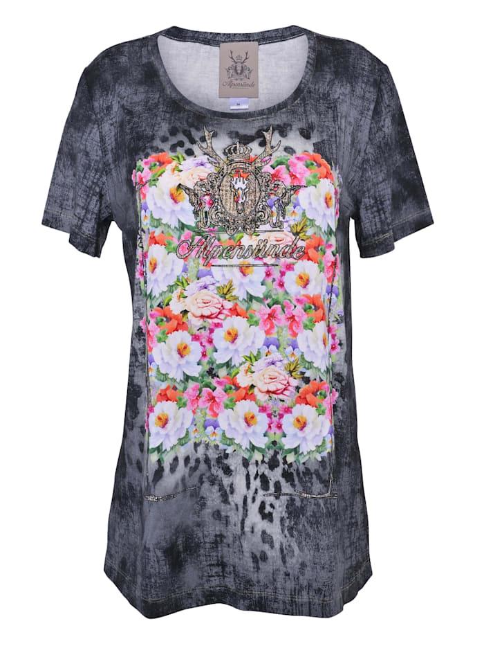 Alpensünde T-Shirt Dana, grau