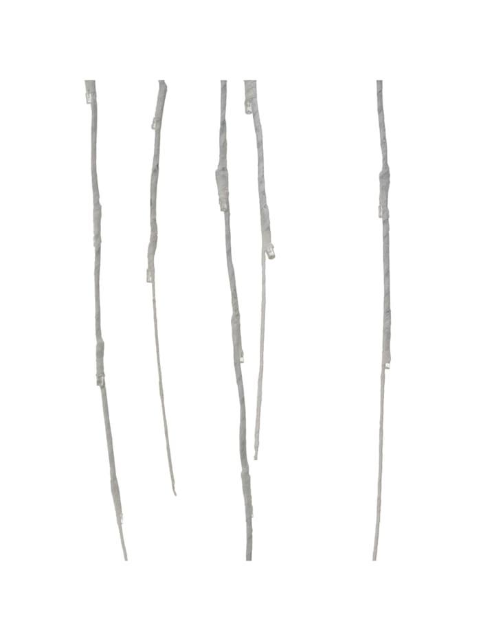Living LED-Trauerweide, Weiß