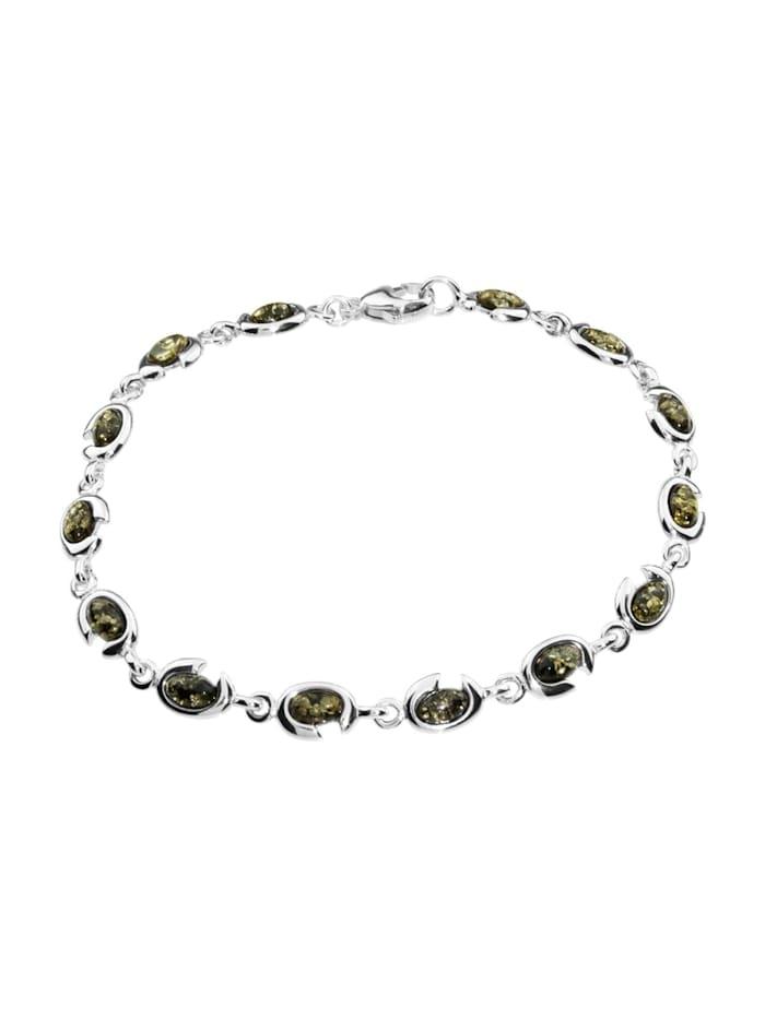 OSTSEE-SCHMUCK Armband - Tabea - Silber 925/000 - Bernstein, silber