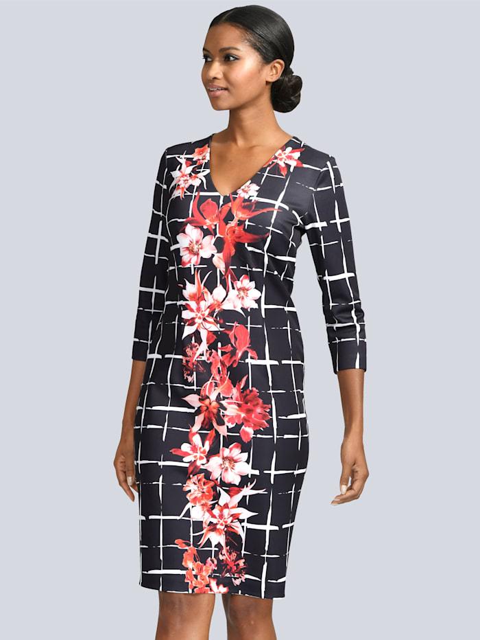 Kleid mit femininem Druck