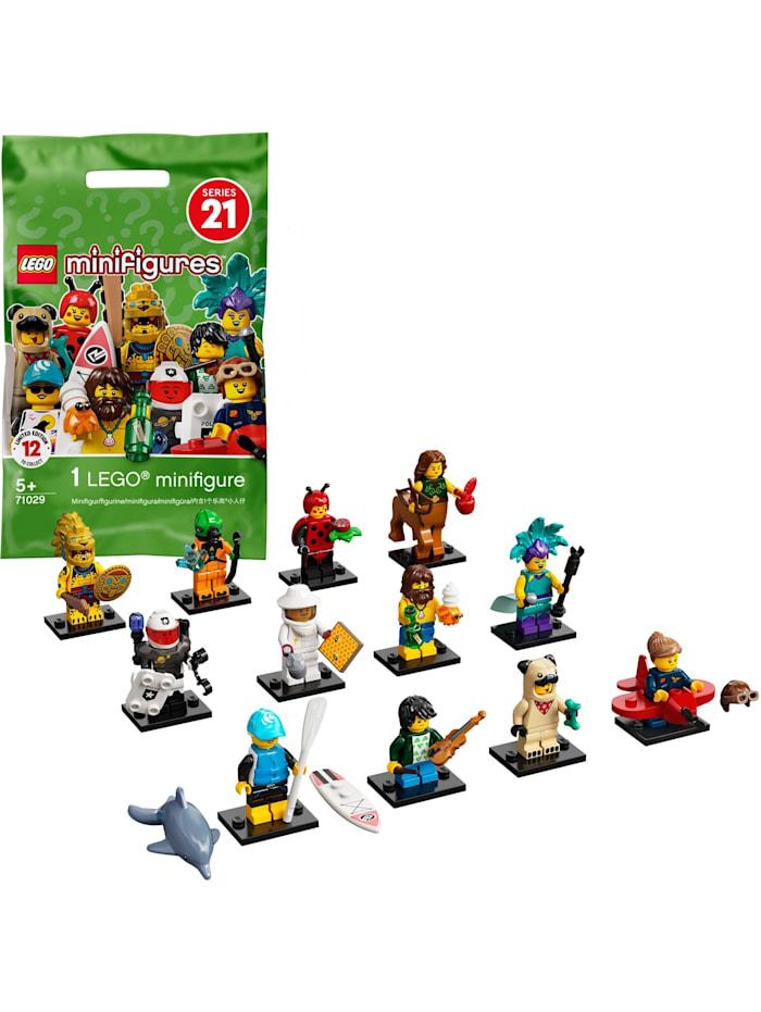 LEGO Konstruktionsspielzeug Minifiguren Serie 21, Bunt