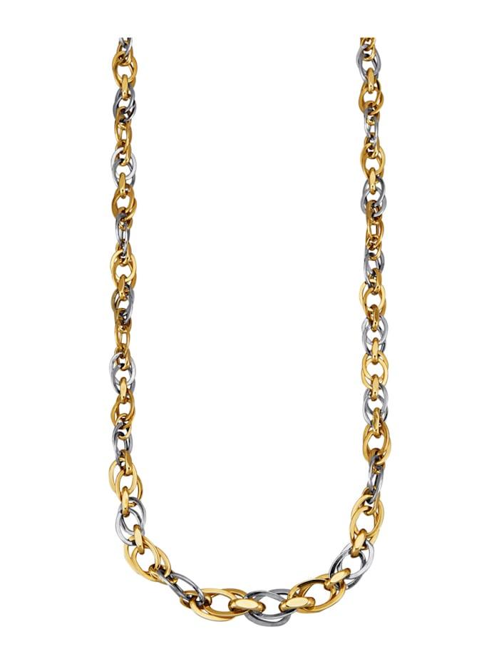 Halskette, Gelbgoldfarben