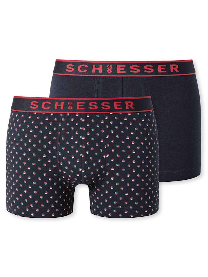 Schiesser Shorts, 2er-Pack Ökotex zertifiziert, sortiert2