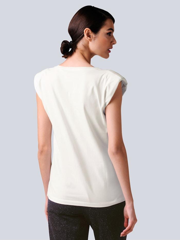 Shirt mit modischen Schulterpolstern