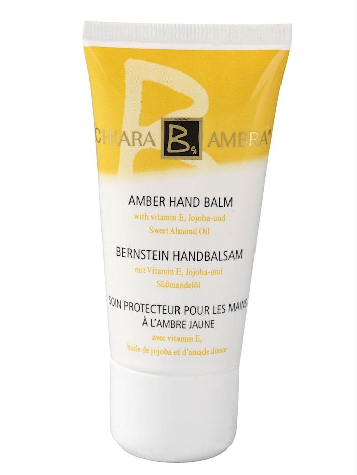 Chiara B. Ambra Baume Amber Hand, col. doré
