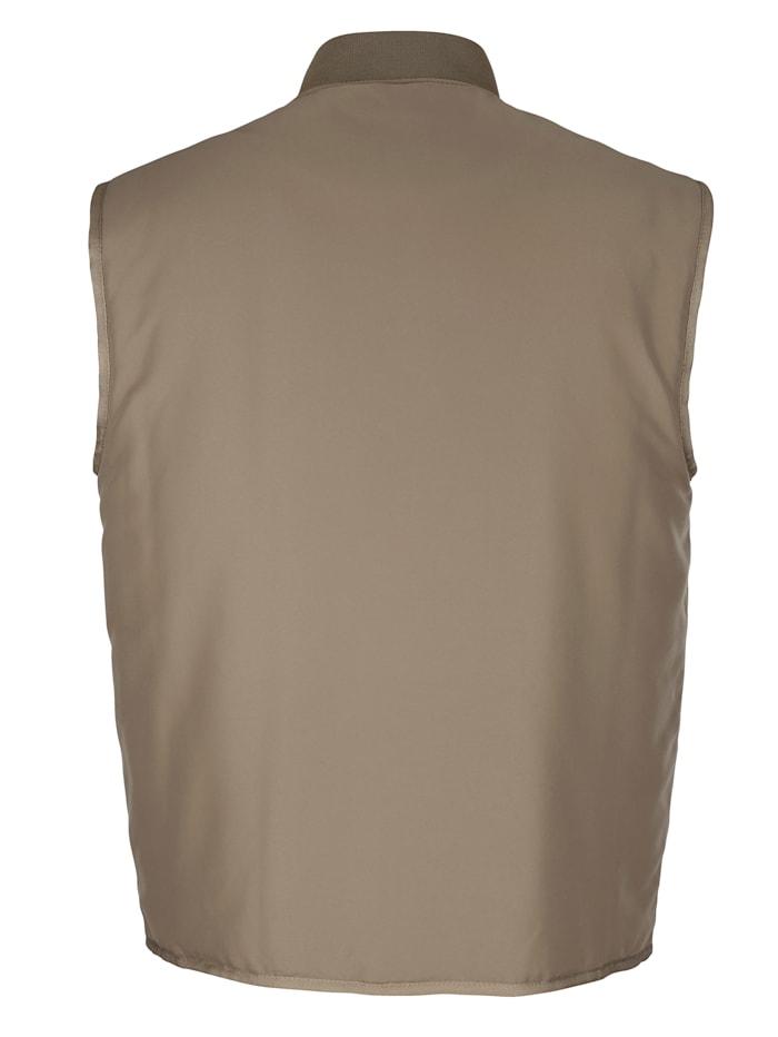Veste sans manches avec poches pratiques