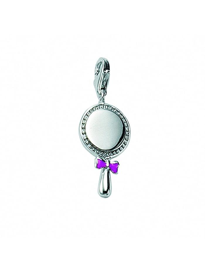 1001 Diamonds Damen Silberschmuck 925 Silber Charms Anhänger mit Zirkonia, silber