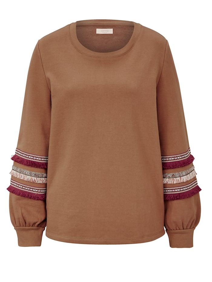 SIENNA Sweatshirt, Camel
