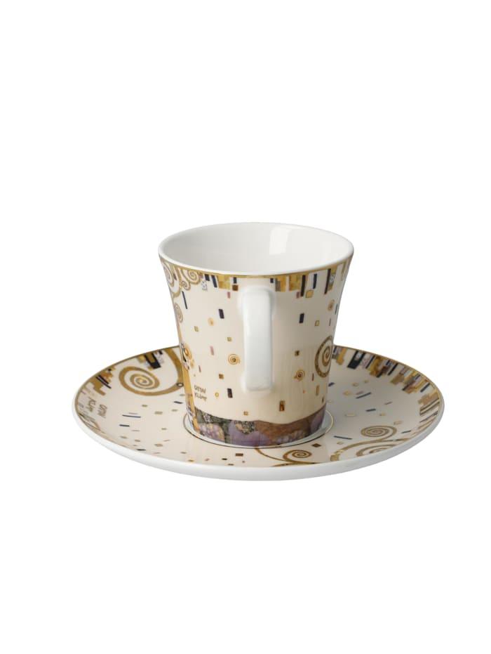 Goebel Kaffeetasse Gustav Klimt - Die Erfüllung