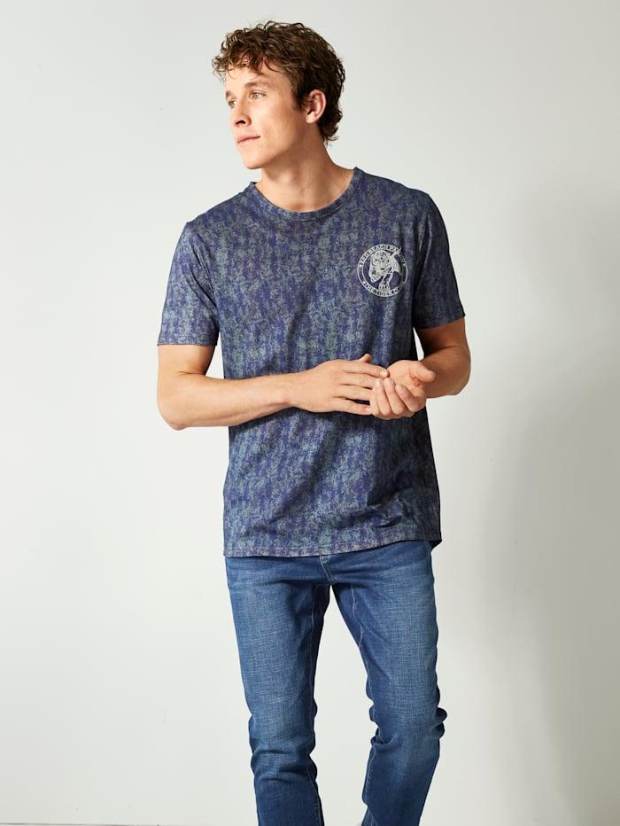 Longshirt mit Tiger-Print